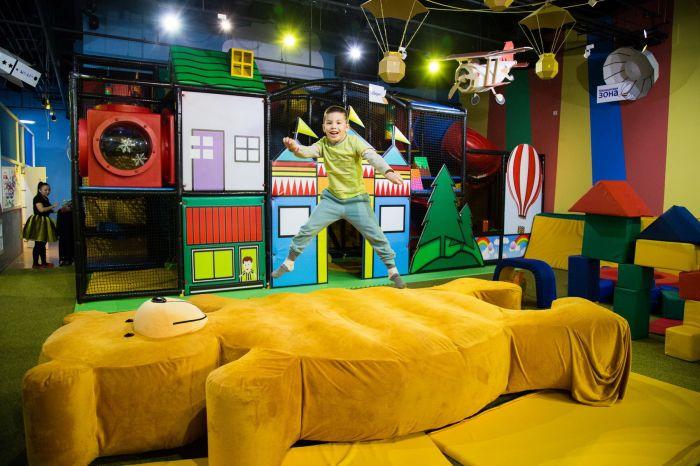 Kids Lab, детская игровая площадка (Достык Плаза) - Bilimland.kz