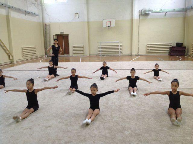 МАДИНА , школа художественной гимнастики (Зал 1) - Bilimland.kz