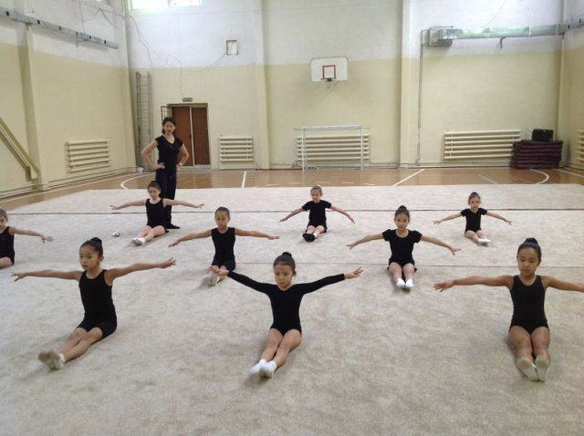 МАДИНА, школа художественной гимнастики (ЗАЛ 2) - Bilimland.kz