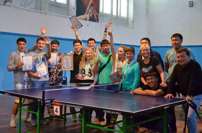 Настольный теннис в казахстане сексия роботы